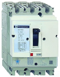 کلید حرارتی مغناطیسی Schneider مدل GV7RE80