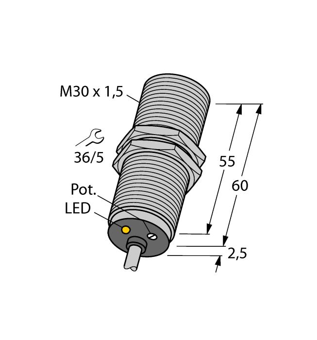 TURCK BC10-M30K-AZ3X