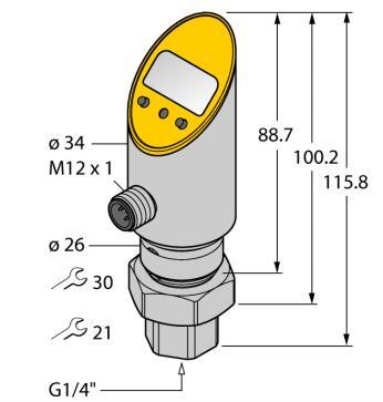 سنسور فشار TURCK